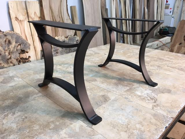 0 - Ohiowoodlands Coffee Table Base. Steel Coffee Table Legs. Accent
