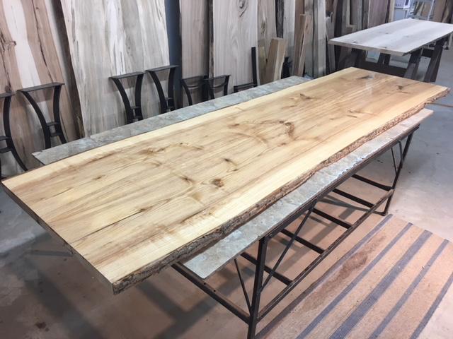 Live Edge Ash Dining Table Slabs Live Edge Ash Lumber