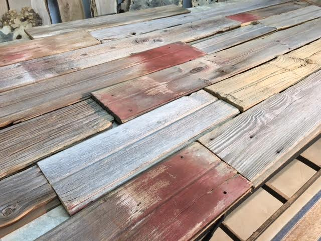 Reclaimed salvaged lumber reclaimed pine oak barn siding for Recycled wood flooring for sale