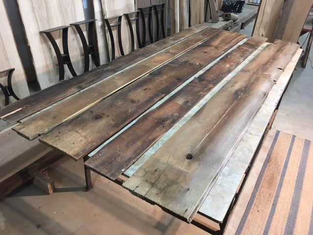 Reclaimed barn lumber reclaimed pine barn siding ohio for Wood decking boards for sale