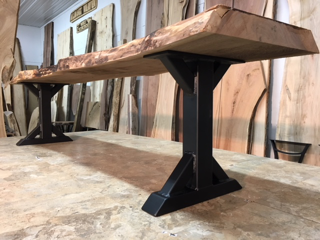 steel bench base