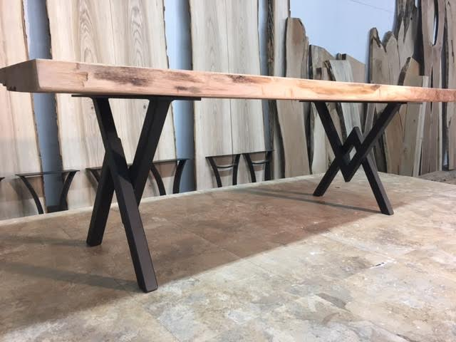 ohiowoodlands coffee table base. steel coffee table legs. accent
