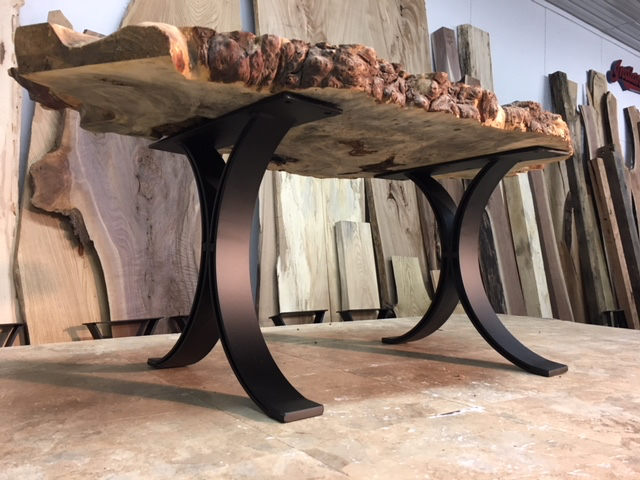 Ohiowoodlands Coffee Table Base Solid Steel Legs Coffee