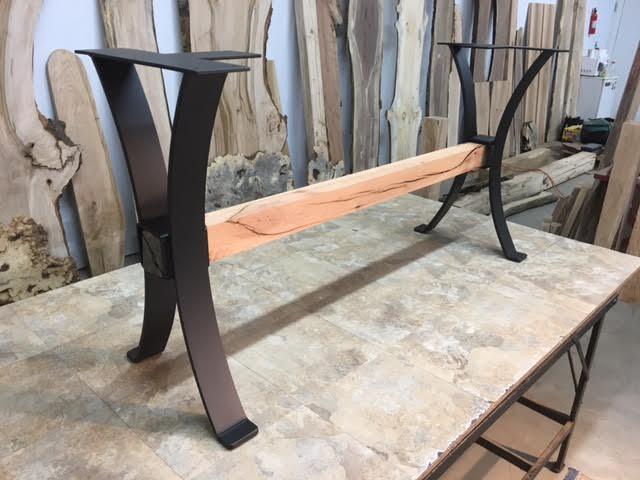 Steel Sofa Table Base Ohiowoodlands Metal Table Legs