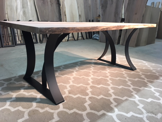 steel dining table base ohiowoodlands metal table legs dining table legs accent table base. Black Bedroom Furniture Sets. Home Design Ideas