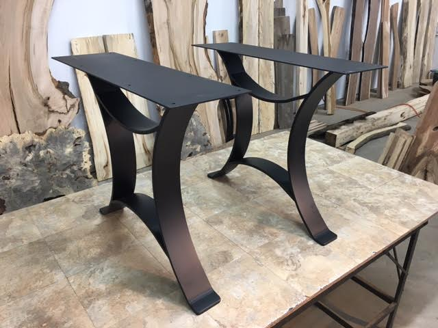 ohiowoodlands dining table base steel dining table legs