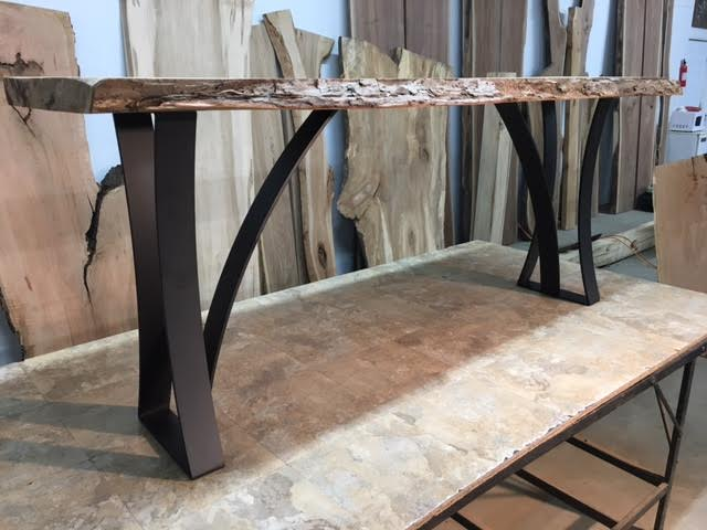 Steel Sofa Table Base Ohiowoodlands Metal Table Legs