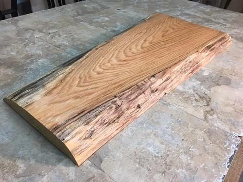 Live Edge Wood Slabs Red Oak Lumber Cutting Board Live