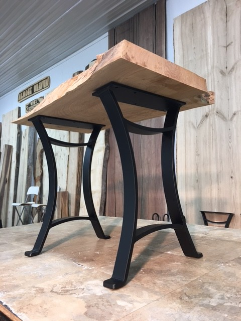 Ohiowoodlands End Table Base Solid Steel End Table Legs