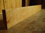 "74"" X 8.25"" TO 8.5"" X 2.25"" CHERRY MANTEL LUMBER! FIGURED CHERRY! FIGURED BEAUTIFUL LUMBER! O-111"