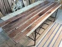 "110"" X 4.5"" TO 5.5"" X 3/4"" ""5 PACK WALNUT LUMBER"" Select and Better Lumber - Heartwood Walnut! 5 Boards! Q-144"