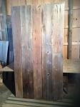 "95.5"" X 11.5"" TO 8.75"" X 5/8"" TO 1"" ""5 PACK RECLAIMED OAK/PINE LUMBER"" FIGURED LUMBER! 5 RECLAIMED BOARDS! RECLAIMED SIDING! S-115"