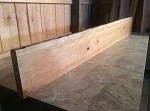 "91.5"" X 11.5"" X  2"" CHERRY MANTEL LUMBER! FIGURED CHERRY! FIGURED CURLY BEAUTIFUL LUMBER! V-120"
