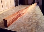 "100"" X 6"" TO 5.75"" X 3  1/8 TO 3"" CHERRY MANTEL LUMBER! Figured Cherry! Figured Lumber! V-121"