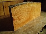 "49"" X 20"" X 2  3/8"" THE VOID"" 2  3/8 INCH THICK CURLY FIGURED CHERRY LUMBER! THICK WOOD! 1 NICE PRIMITIVE BOARD! Z-92"