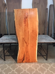 Live Edge Cherry Lumber For Sale at Ohio Woodlands  Jared