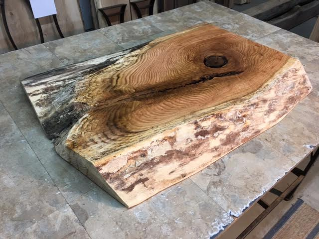 38 X 30 To 27 3 5 Red Oak Coffee Table Slab