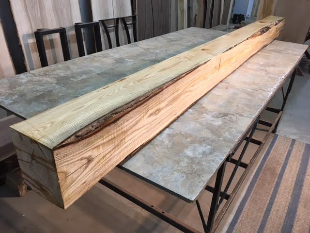 Ash Mantel Lumber Jared Coldwell Lumber Beam For Sale