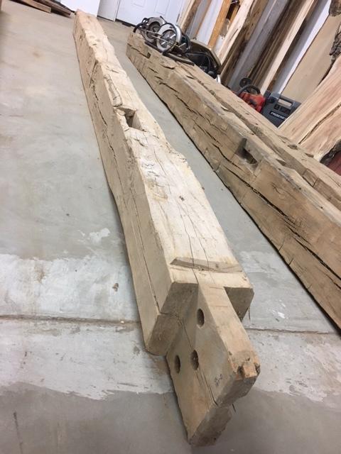 Beech Mantel Beam Lumber Reclaimed Beam Lumber Beam For