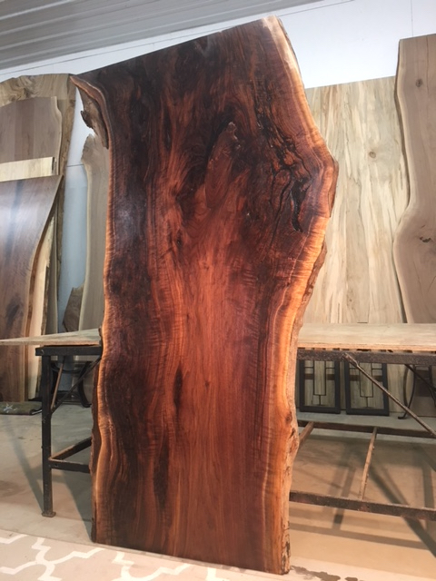 Burl For Live Edge Dining Table