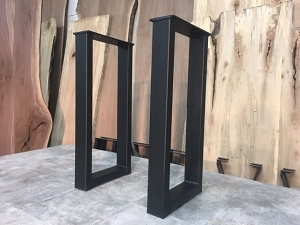 28 INCH TALL STEEL SOFA TABLE LEG SET! Part #X-179