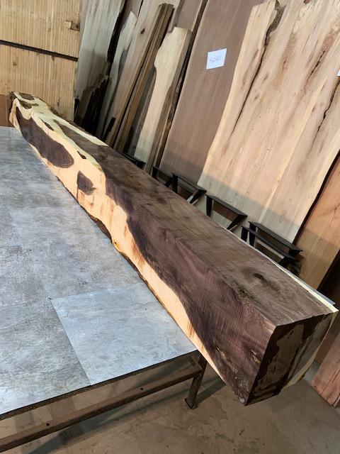 Solid Walnut Lumber Mantel Beam For Sale