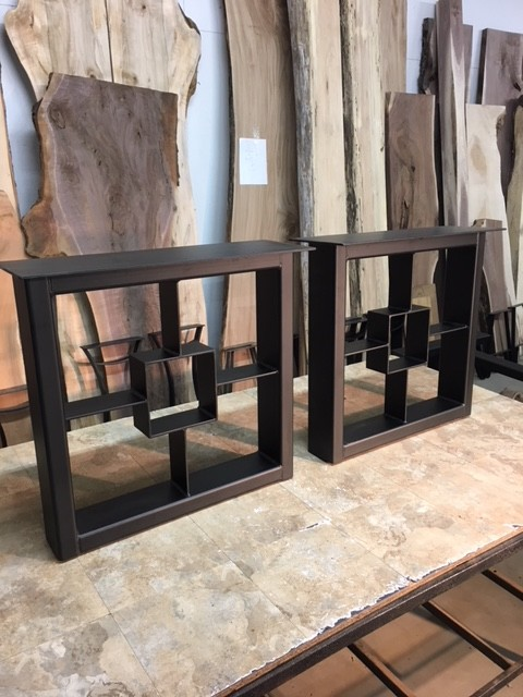 28 Inch Tall Steel 1750 Series Dining Table Base Legs